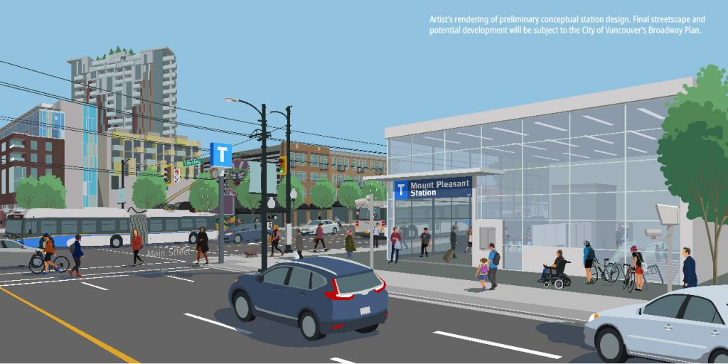 Flickr Album Station Rendering - Mount Pleasant