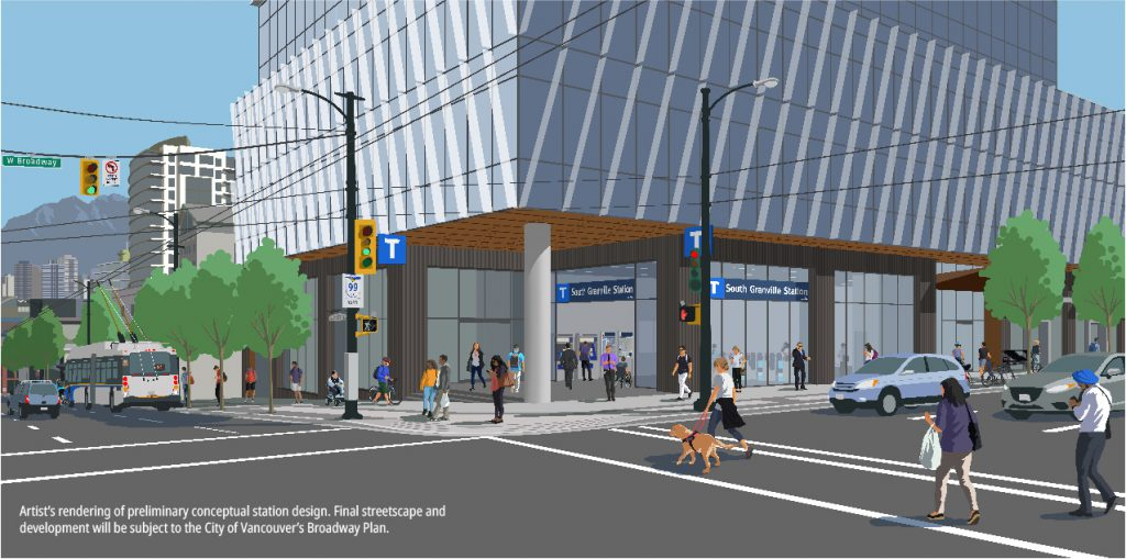 Flickr Album Station Rendering - South Granville