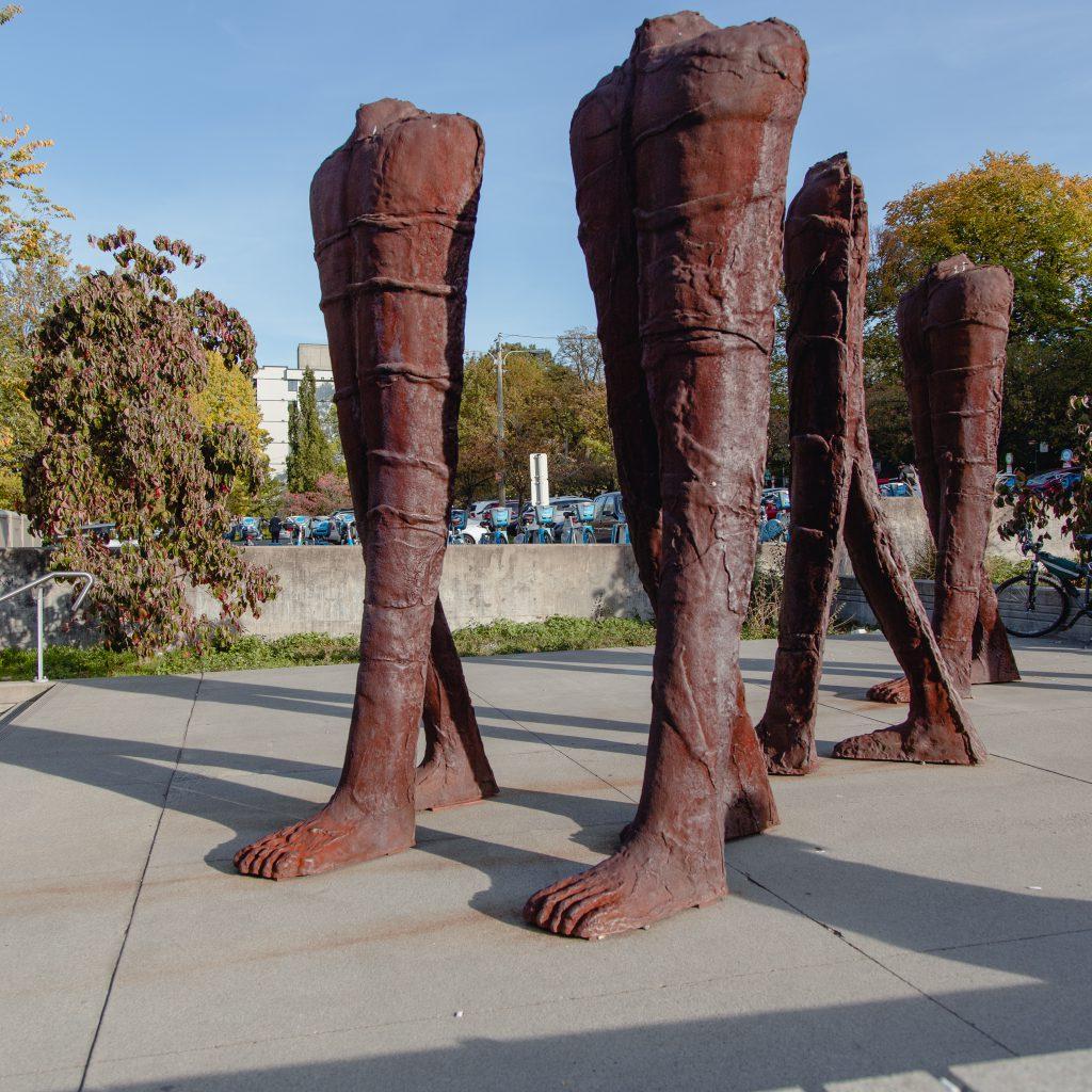 Existing public art - TransLink - plaza